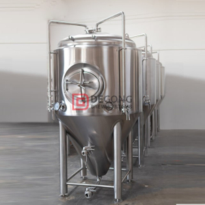 1000L / 10BBL Craft Brewery Tank CCT Conical Isobaric Pressure Stainless Steel Beer Fermentation Tank-Unitank